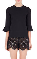 Valentino Women's Compact Knit Blouse