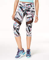 Material Girl Active Juniors' Illusion Capri Leggings, Created for Macy's