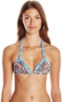 Maaji Women's Tassels and Tiles Bikini Top