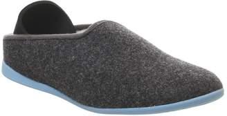 Mahabis Mahabis Classic Slippers Larvik Dark Grey Blue Sole