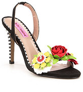 Betsey Johnson Brena Sling Back Dress Sandals
