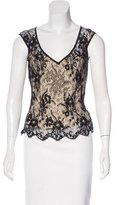 Temperley London Silk Lace Top