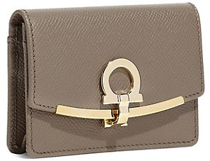 Salvatore Ferragamo Small Gancini Leather Wallet