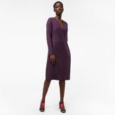 Paul Smith Women's Damson Wool-Twill Travel Dress
