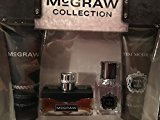 Coty McGraw Collection 4 piece Fragrance Set with Hair & Body Wash + FREE Scunci Black Roller Pins, 18 Pcs