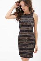 Forever 21 Crochet Sheath Dress