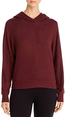 Andrew Marc Brushed Knit Hoodie