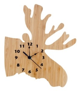 Trend Lab Bamboo Moose Wall Clock Bedding