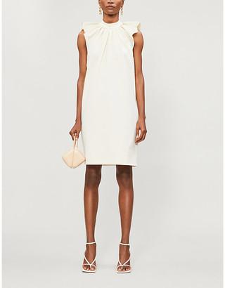 Victoria Beckham Sleeveless stretch-crepe mini dress