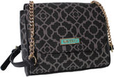 Waverly Lattice Flap Crossbody Bag