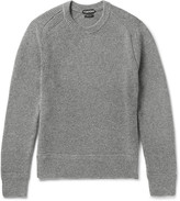 Tom Ford Slim-Fit Ribbed Wool and Silk-Blend Sweater