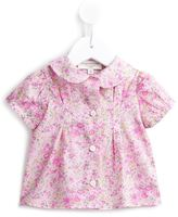 Cashmirino Floral puff sleeve top