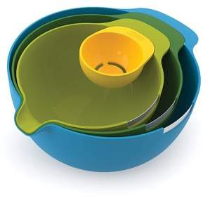 Joseph Joseph Nest Mix Mixing Bowls with Egg Yolk Separator, 4--Piece Set