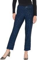 Bob Mackie Regular All Over Sequin Pants