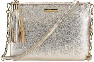 GiGi New York Chelsea Metallic Crossbody Bag
