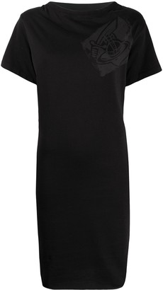Vivienne Westwood chest logo T-shirt dress