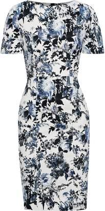 Erdem Joyce Floral-print Stretch-cotton Dress