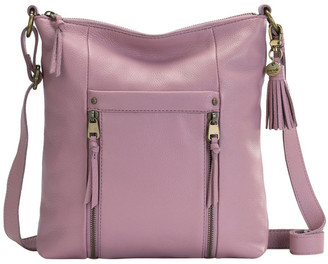 The Sak 108111MAU Ladera Zip Top Crossbody Bag