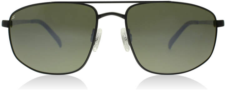 Serengeti Modugno Sunglasses Satin Black 8407 Polariserade 64mm