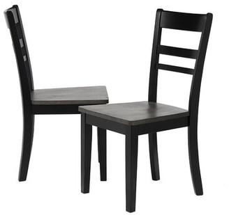 Gracie Oaks Edmiston Solid Wood Dining Chair Gracie Oaks