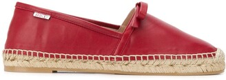 RED Valentino RED(V) bow ribbon detailed espadrilles