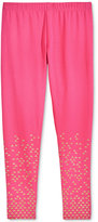 Epic Threads Metallic-Print Leggings, Big Girls (7-16), Only at Macy's