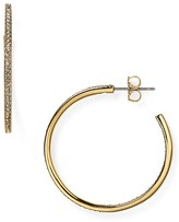 Nadri Pavé Hoop Earrings