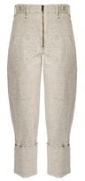 Isabel Marant Eugenie high-rise peg-leg denim trousers