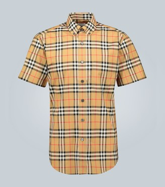 Burberry Vintage check short-sleeved shirt