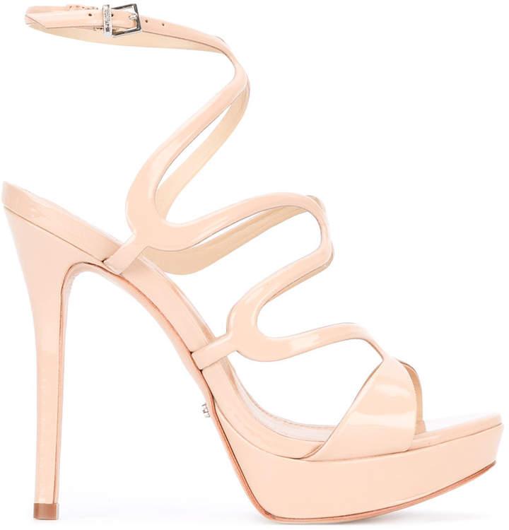 Schutz strappy heeled sandals