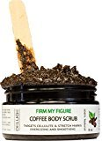 Organic Coffee Body Scrub, Tightens, Tones, Reduces Cellulite 100% Natural 8 OZ