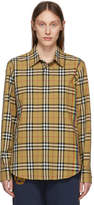 Burberry Multicolor Vintage Rainbow Stripe Shirt