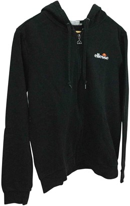 Ellesse Black Cotton Jacket for Women