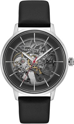 Kenneth Cole New York Men's Automatic Black Dial Watch