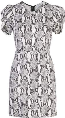 A.L.C. snakeskin print short sleeve dress