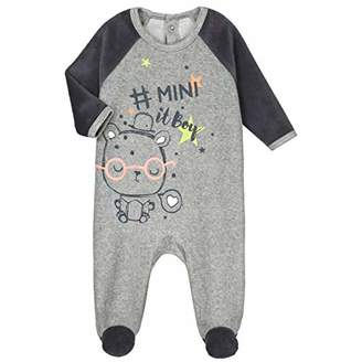 Camilla And Marc Baby Velour Mini Boy Pyjamas - Size 12 Months (80 cm)