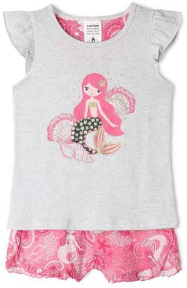 Milkshake Mermaid Pyjama Set