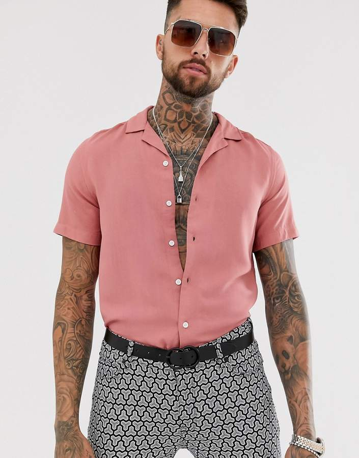 cc858b51e9 Viscose Shirt Asos - ShopStyle