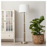 Threshold Franklin Floor Lamp - Brass