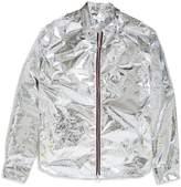 Soulland Hobbie Reflective Light Zip Jacket Silver