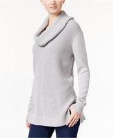 MICHAEL Michael Kors Mixed-Knit Cowl-Neck Sweater
