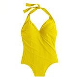 J.Crew Long torso halter one-piece swimsuit
