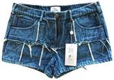 Laurence Dolige Blue Denim - Jeans Shorts for Women