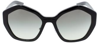 Prada Black Butterfly Frame Sunglasses