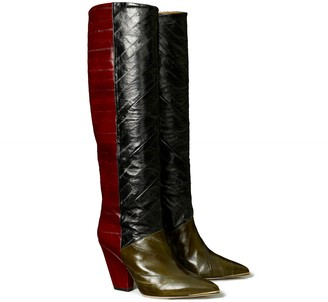 Tory Burch Lila Eel Knee Boot