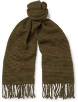 J.Crew Waffle-Knit Cotton Scarf