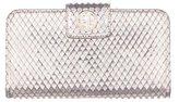 Emporio Armani Metallic Snakeskin Wallet