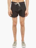 Saturdays Surf NYC Black Contrast-Seam Shorts