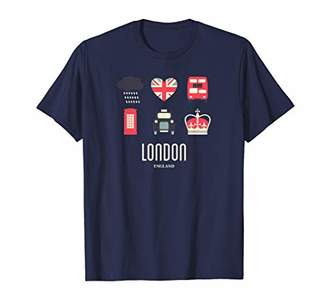 Icons London England Souvenir British Gift Shirt