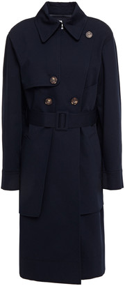 Cédric Charlier Stretch-cotton Twill Trench Coat